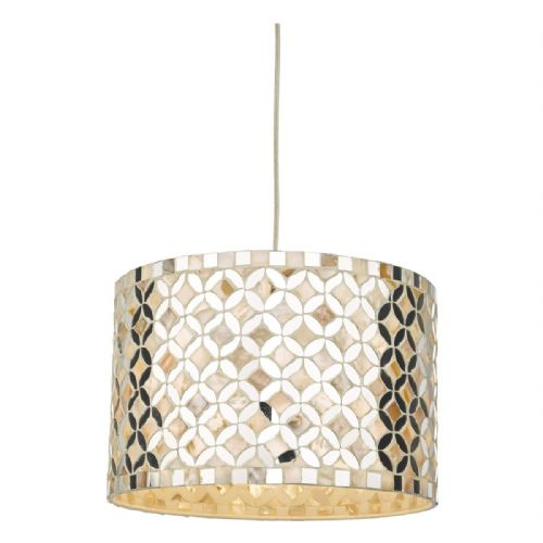 Acquila Easy Fit Pendant Mirror & Cream ACQ6568